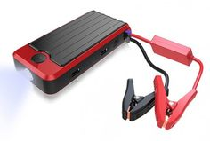 The Powerall Deluxe is the all-in-one answer to your portable charging woes. Using a lithium-ion battery, the Powerall Deluxe has the strength for dual USB charging and for jump-starting up to 20 cars on a single charge.