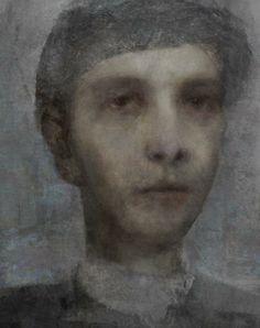 Alexei Chekini --Картон/пастельные карандаши, соус, гуашь, графит 60 см х 50 см Брайтон, 2011