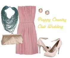 Vineyard wedding guest dress idea