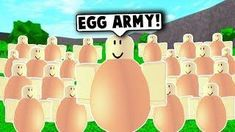 I MADE AN EGG ARMY ON ROBLOX! (Roblox Funny Moments) Roblox Funny, Roblox Roblox, Scary Stories, Horror Stories, What Is Roblox, Roblox Animation, Flag Game, Capture The Flag, Funny Moments