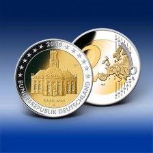 2 Euro Gedenkmünze  Deutschland  Ludwigskirche