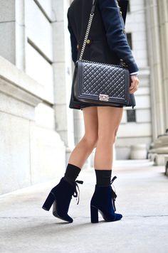 Eli in the Walk-in Toms, Topshop, Chanel Boy Bag, Walking, Shoulder Bag, Shoe Bag, Beautiful, Outfit, Fashion