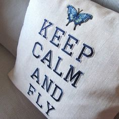 "Cuscino ""keep calm"" fai da te! - DIY ""Keep calm"" pillow!"