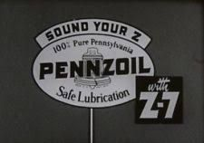 Image result for pennzoil sound your z black and white  logo