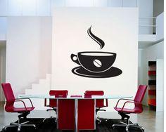Sticker decorativ Ceasca de cafea