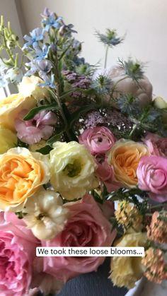Bridal Bouquet Blue, Wedding Bouquets, Floral Bouquets, Floral Wreath, Floral Wedding, Wedding Flowers, Something Blue Bridal, Blue Delphinium, Pink Butterfly