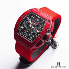 Richard Mille RM 011 Red TPT Quartz Automatic Flyback Chronograph.
