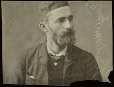 """Happy Birthday George Eastman!Portrait of George EastmanSubject of photograph: George Eastman 1854-1932ca. 18843.5"""" by 4.5""""Gift of Eastman Kodak Patent Collection"""
