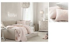 Toddler Bed!!!! I'm really into restoration hardware baby and child. :) I like the soft calming colors.