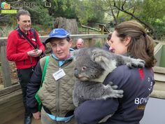 Clubmates members @ Bonorong Wildlife Sanctuary