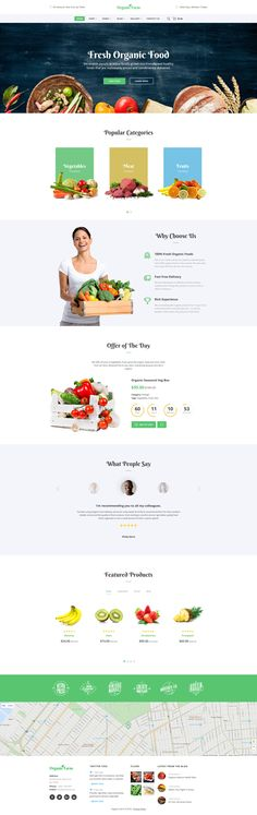 "Check out this @Behance project: ""Food & Drink Responsive Website Template""…"