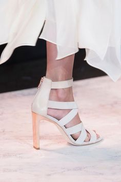 BCBG Max Azria Spring 2015 #nyfw #shoes
