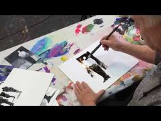 How To Paint a Landscape Quick and Easy with Robert Burridge - YouTube