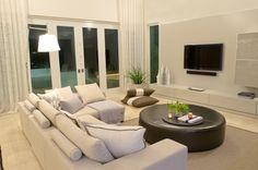 House at Paseo San Juan, Guaynabo, Puerto Rico/ Designed by Lulu Puras interior Design/ Family Room