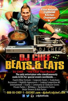 59 Dj Chef The Only Entertainer Who Cooks Djs For Special Events Worldwide Ideas Wine Festival Dj Special Events