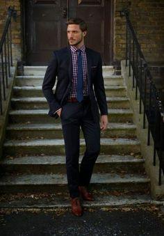 Blue Suit #modameska #fashion #men #willsoor www.willsoor.pl