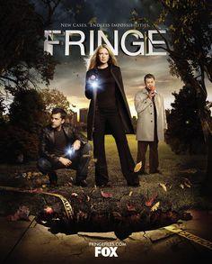 FringeSeason 1 TV show poster. #fringe #tv #poster #tvshow