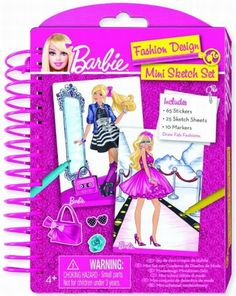 TM Toys Mini Szkicownik Barbie - Szkicownik - Satysfakcja.pl