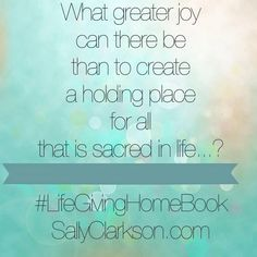 Making Your Home a Safe Refuge from Storms of Life &Lifegiving Home Launch Week