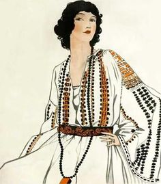 La Blouse Roumaine fashion in the '20-'30