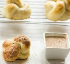 Cinnamon Sugar Pretzel Knots by ihearteating #Pretzels