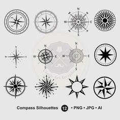 Small Compass Tattoo Below the Breast Mandala Compass Tattoo, Simple Compass Tattoo, Compass Tattoo Design, Clipart, Symbol Tattoos, Tattoo Rose Des Vents, Tattoo Son, Sad Tattoo, Tattoo Designs