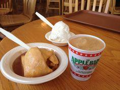 dumpling and frozen cider