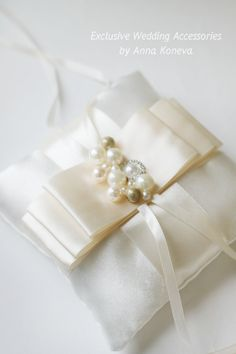 BEST SELLER Ivory Wedding Ring Pillow Bearer Ring Pillow Lace Wedding  Ring Pillow Wedding Ring holder ring bearer pillow wedding.  His lovely wedding ring pillow is entire... #ideas #inspiration #instagram #bridal #picoftheday