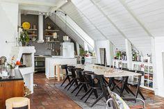 Attic apartment   same home different decor here Follow Gravity Home: Blog - Instagram - Pinterest - Facebook - Shop