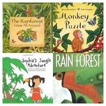 List of children's books about rainforests