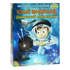Научно-познавательный набор Bondibon Юный вундеркинд. Домашний планетарий