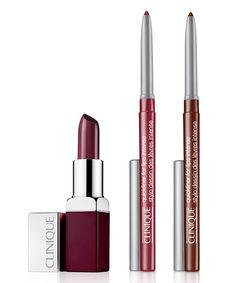Quickliner for Lips Intense Cosmo et Cola, Pop Rouge intense + base lissante 2-en-1 Rebel, Clinique