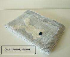 Baby blanket Oliver Knitting pattern by Le Petit Mouton | Strickanleitungen | LoveKnitting