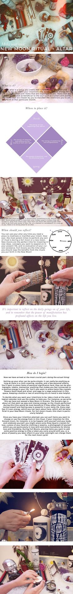 DIY Your own full moon altar and personal ritual! So easy, so important. gypsywarrior.com