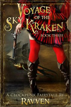 A steampunk fairytale coming in Beautiful Book Covers, Kraken, Blue Bird, Fairytale, My Books, Steampunk, Sky, Writing, Pictures