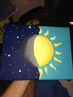 Trendy Painting Ideas On Canvas Acrylic Easy Love Ideas - Leinwand-Malerei - unique crafts Simple Canvas Paintings, Easy Canvas Art, Small Canvas Art, Easy Canvas Painting, Mini Canvas Art, Cute Paintings, Diy Painting, Diy Canvas, Acrylic Canvas