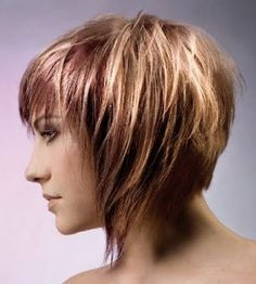 short choppy hairstyles for fine hair - Bing Images
