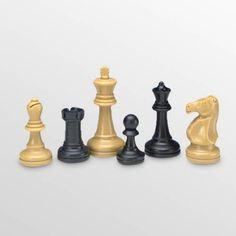 Tournament Pro Deluxe Plastic Chess Pieces - 832.97 $39.99