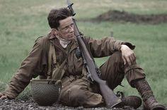 <3 Ross McCall as Joe Liebgott---it was weird when it hit me he plays Matt Bomer's nemesis in White Collar!!