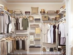 Walk In Closet Designs. Large Master Walk In Closet For Him. Walk In Bedroom Closet Designs Stylish On Bedroom With 33 Walk In Closet Design Ideas To Find Solace Master . Best Walk In Closet Designs White Gray. Walk In Multiple Wall Designs. Walking Closet, Walk In Closet Design, Closet Designs, Closets Pequenos, Wire Closet Shelving, Storage Shelving, Shelving Ideas, Shoe Storage, Open Shelving