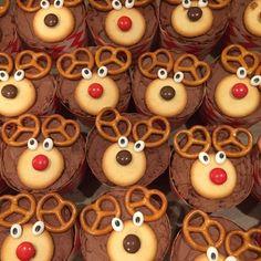 Rentier Muffins und Cake Pops