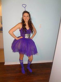 Tinky Winky the teletubby Halloween costume