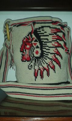 Indian Chief Wayuu Mochila bag