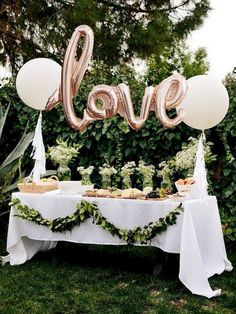 52 Creative Bridal Shower Décoration Ideas