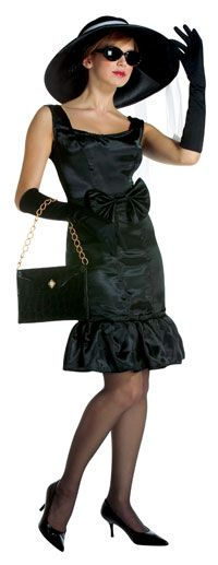 5th Avenue Girl Adult Costume - Adult Halloween Costumes