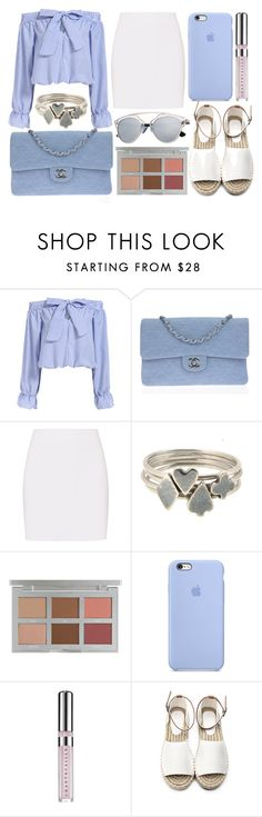 street style by sisaez on Polyvore featuring Helmut Lang, Chanel, Sian Bostwick Jewellery and Chantecaille