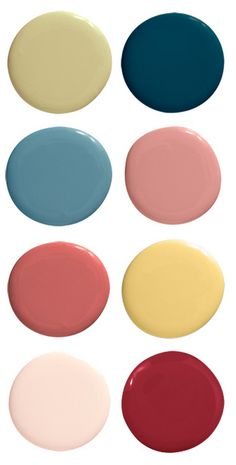 [Color Palettes] 12 Exotic Hues to Transport You to Another Place via @housebeautiful