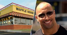 The Rock used to have a bizarre behavior when he went to Waffle Home (6 Pictures)
