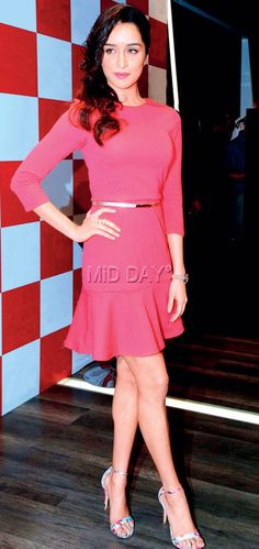 Shraddha Kapoor at a product launch in Bandra. #Bollywood #Fashion #Style #Beauty