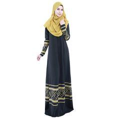 Inventive Muslim Dress Women Islamic Dress Long Sleeve Kaftan Elegant Dress Muslim Party Dubai Lace Maxi Dress 2019 A9 Activity & Gear